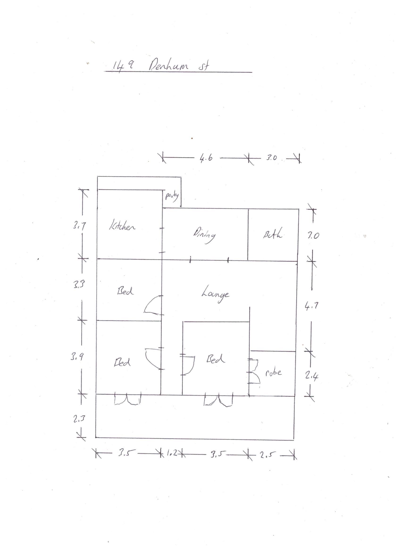 Bracken floor plan