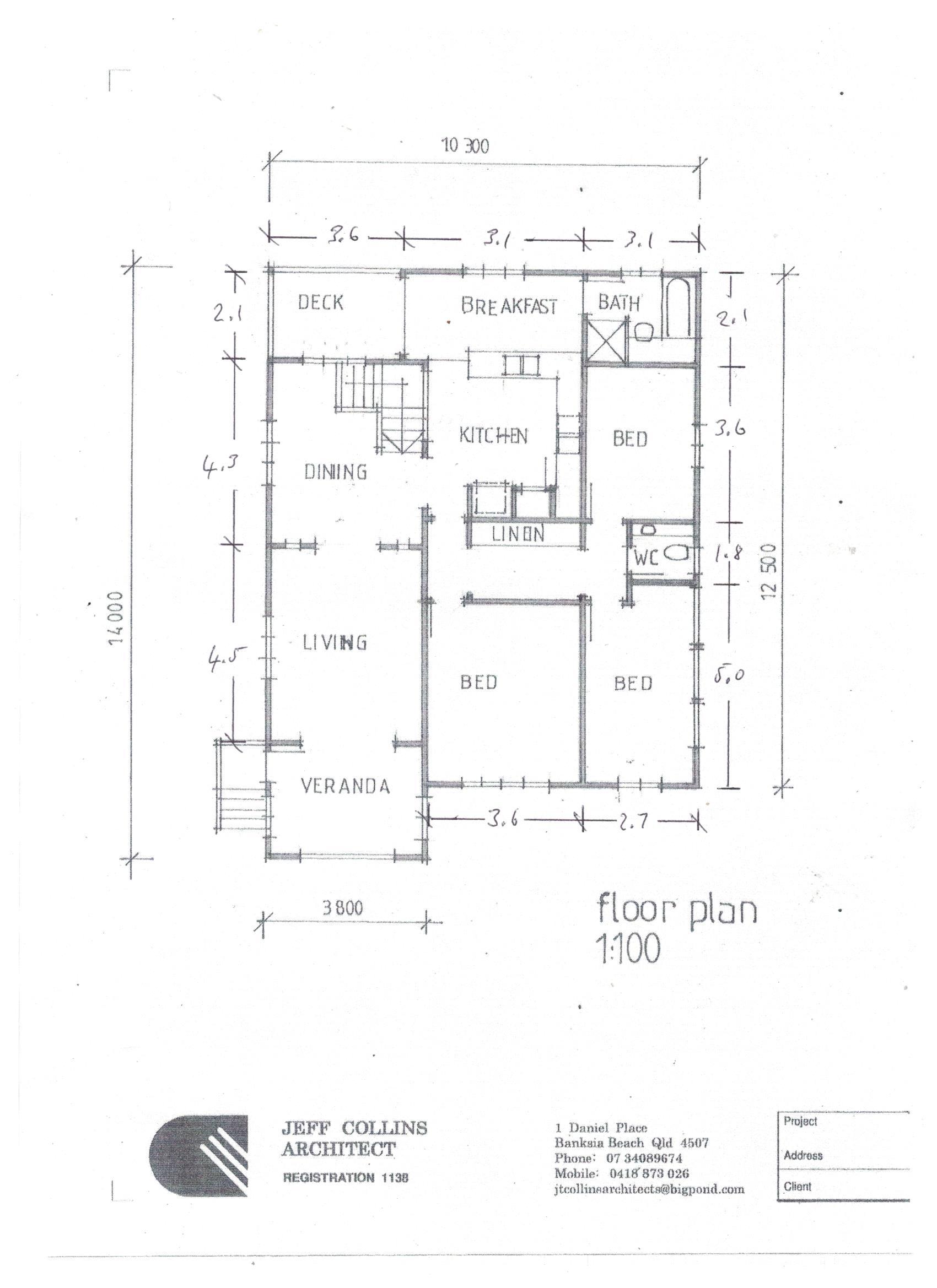 Gilmore floor plan